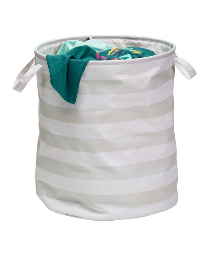 Honey Can Do - Kids Collection Striped Hamper
