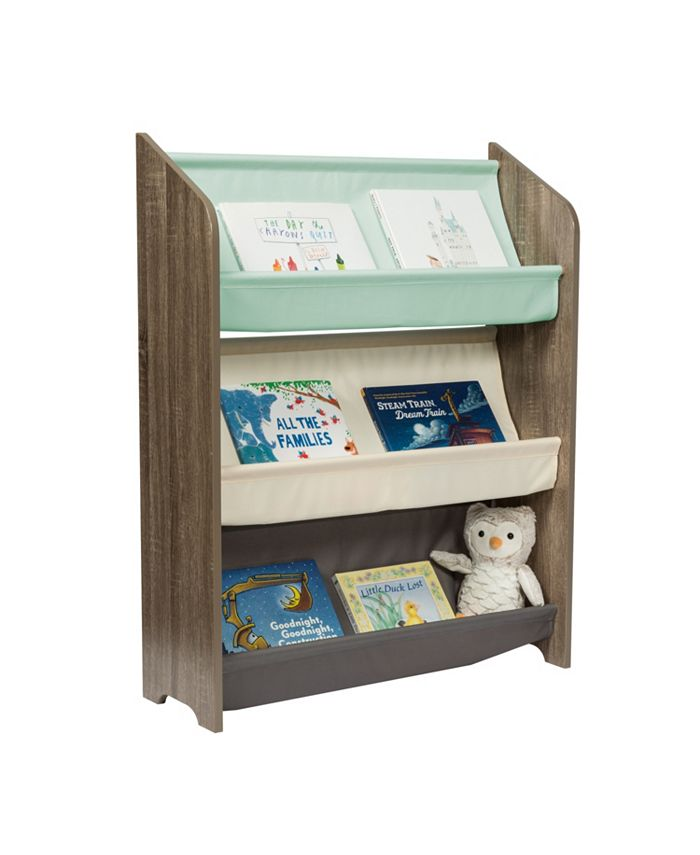 Honey Can Do - Kids Collection 3-Tier Book Rack