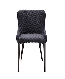 Etta Dining Chair Dark Gray