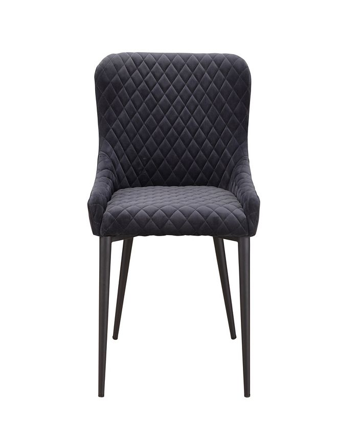 Moe's Home Collection - ETTA DINING CHAIR DARK GREY