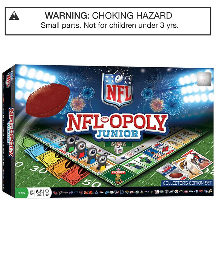 MasterPieces Puzzles - NFL-opoly Junior Game