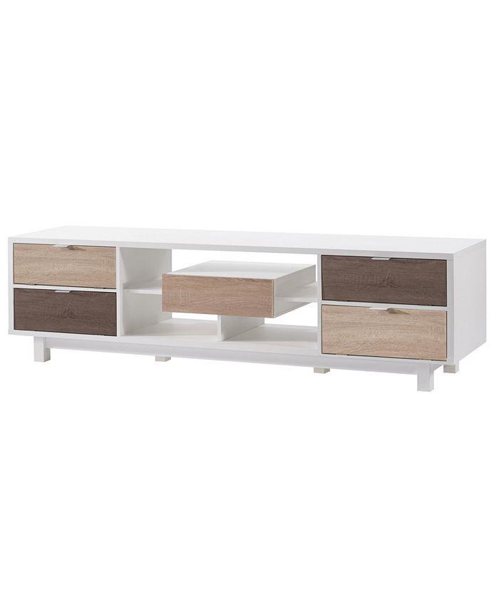 "Furniture of America - Aaron Modern 70.8"" TV Stand"