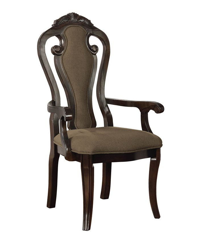 Furniture of America - Katuy Arm Chair (Set Of 2), Quick Ship