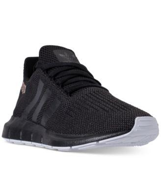 black adidas swift run women's