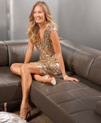 Holiday 2011 Trends: Sequined Dress Girls' Night Out Look