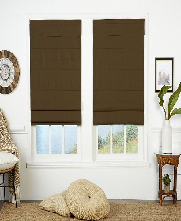 The Cordless Collection Insulating Cordless Roman Shade, 40x72