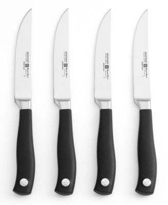 Wusthof Grand Prix II Steak Knife Set, 4 Piece