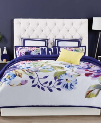Christian Siriano Garden Bloom Full/Queen 3 Piece Duvet Set
