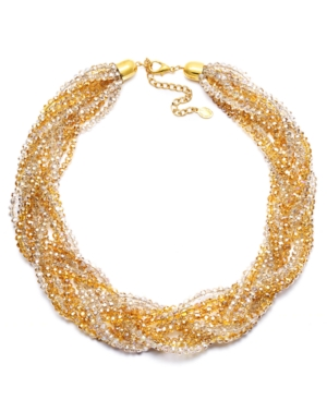 c.A.K.e. by Ali Khan Necklace, Braided Collar Necklace