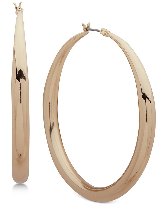 Anne Klein - Tapered Hoop Earrings