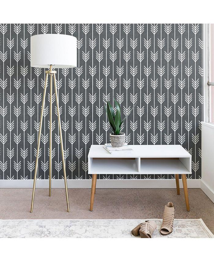 Deny Designs - Holli Zollinger Arrows Grey wallpaper
