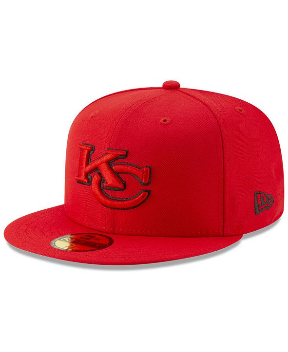 New Era Kansas City Chiefs Logo Elements Collection 59FIFTY FITTED Cap