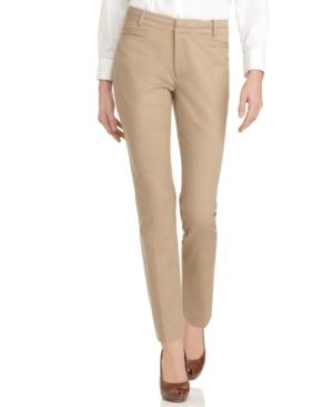 Calvin Klein Pants, Straight Trousers