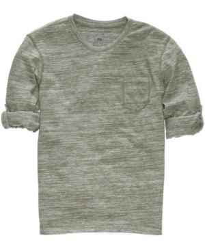 Calvin Klein Jeans Shirt, Convertible Sleeve Shirt