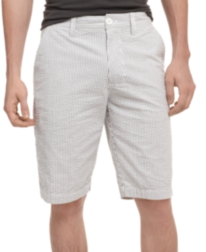 American Rag Shorts, Striped Seersucker Slim Fit Short