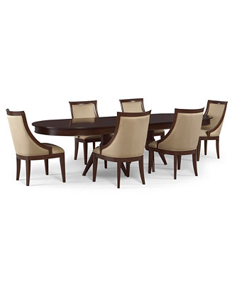 martha stewart dining room furniture larousse 7 piece set table and