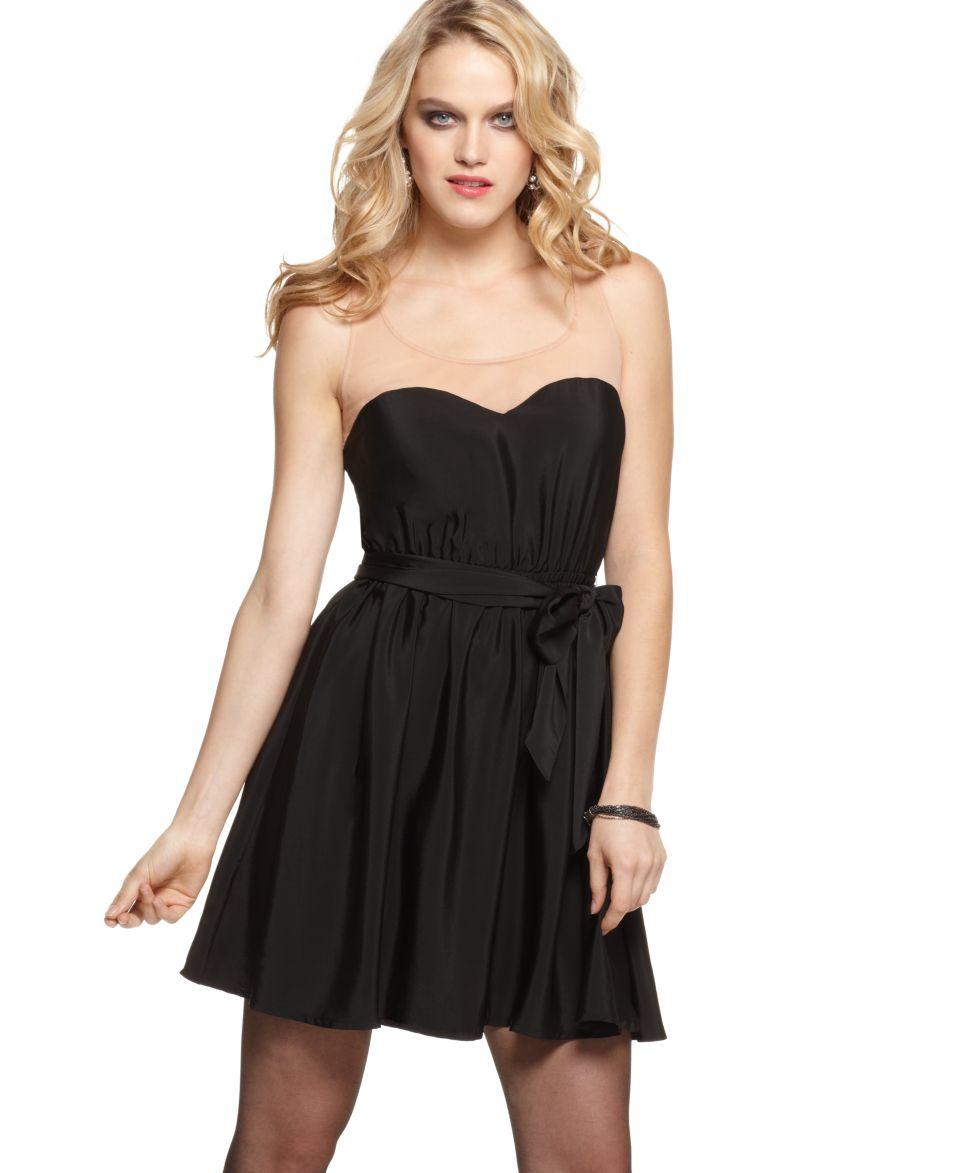GUESS? Dress, Tani Fluid Strapless Little Black Dress   Dresses   Women