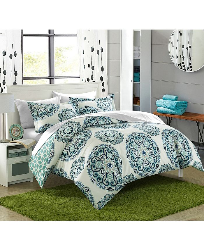 Chic Home - Ibiza 7-Pc. Bed In a Bag Duvet Sets