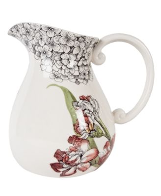 CLOSEOUT! Edie Rose by Rachel Bilson Serveware, Hydrangea Pitcher