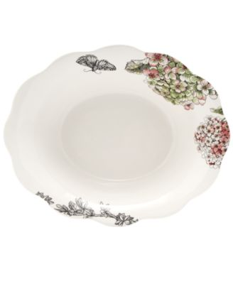 Edie Rose by Rachel Bilson Serveware, Hydrangea Vegetable Bowl
