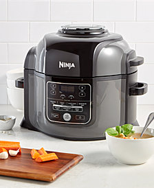 Ninja Foodi™ 9-in-1 6.5QT Pressure Cooker & Air Fryer with High Gloss Finish OP301
