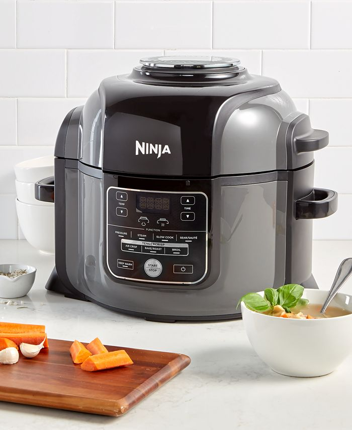 Ninja - Foodi™ 9-in-1 6.5QT Pressure Cooker & Air Fryer with High Gloss Finish OP301