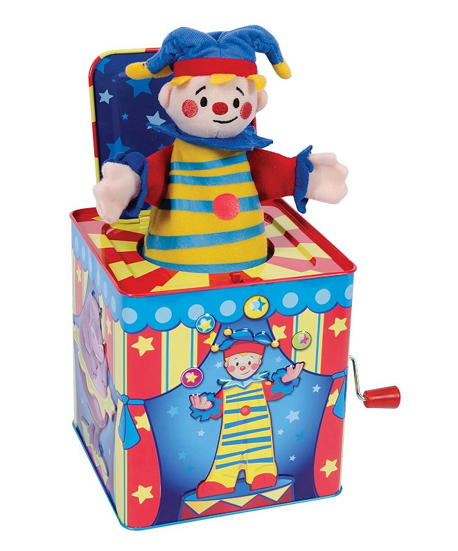Redbox Schylling Silly Circus Jack In Box Toy