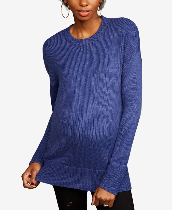 LINE - Maternity Crewneck Sweater