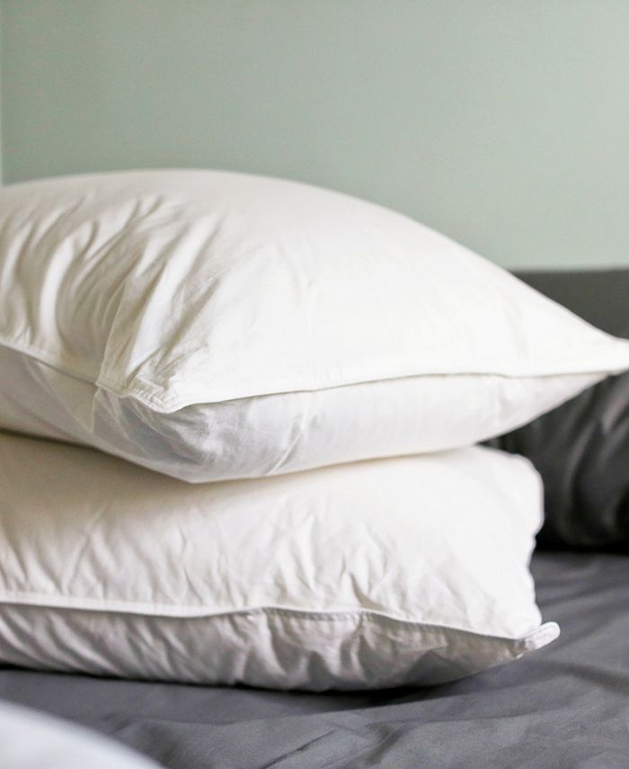 Charisma - Luxe Down Filled Compartment 2-Pack of King Pillows, Medium Firm