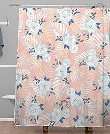 Deny Designs Iveta Abolina Sweet Stella Peach Shower Curtain