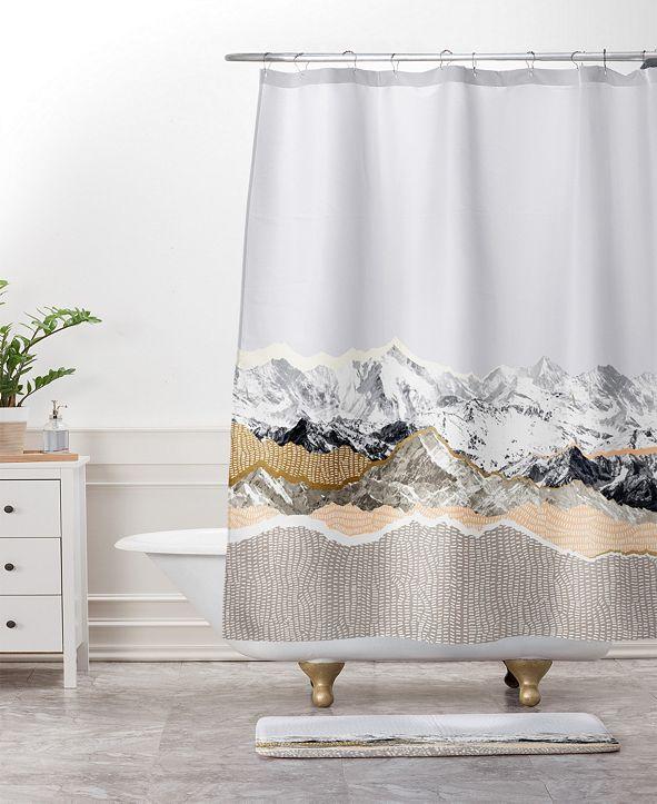 Deny Designs Iveta Abolina Pastel Mountains III Bath Mat