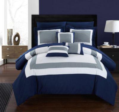 Duke 10-Pc King Comforter Set