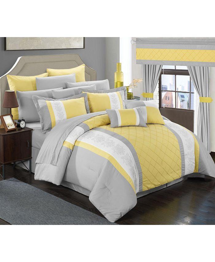 Chic Home - Danielle 24-Pc. King Comforter Set