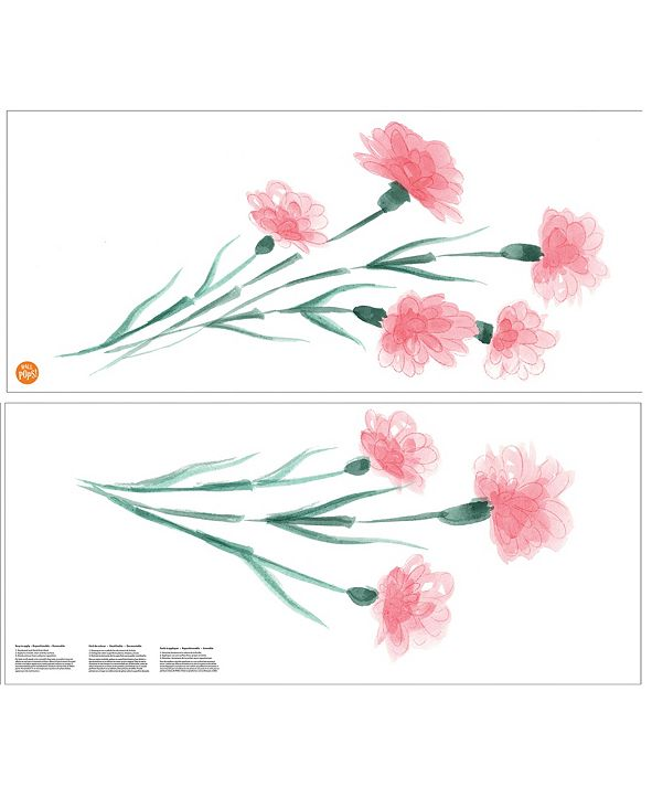 Brewster Home Fashions What In Carnation! Wall Art Kit