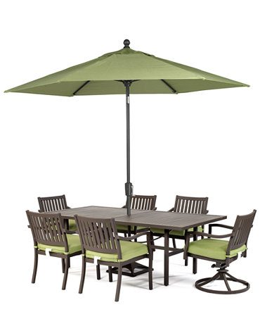 madison outdoor 7 piece set 84 x 42 dining table 4