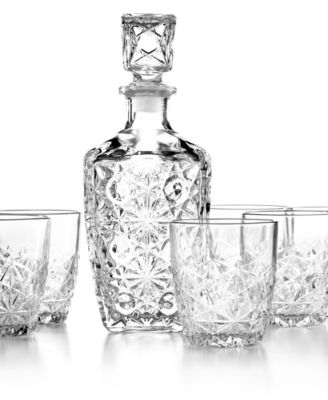 Bormioli Rocco Barware, Dedalo 7 Piece Whiskey Set