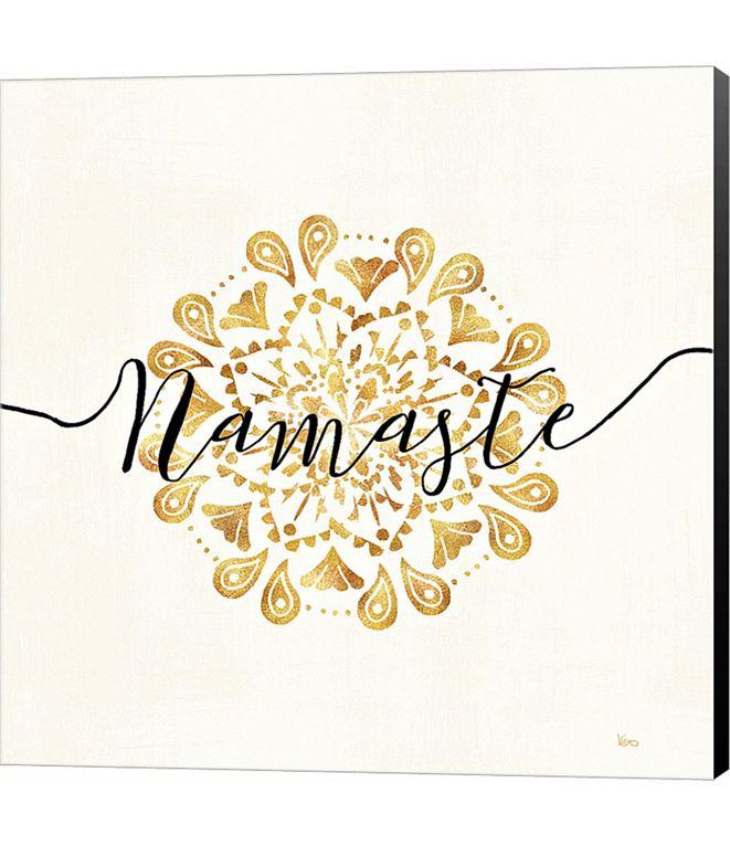 Metaverse Namaste I by Veronique Charron Canvas Art