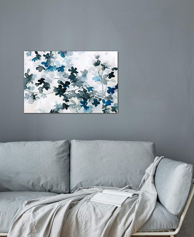 "iCanvas ""Blue Cherry Blossoms"" by Carol Robinson Gallery-Wrapped Canvas Print"