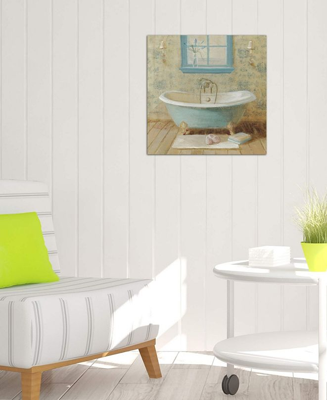 "iCanvas ""Victorian Bath I"" by Danhui Nai Gallery-Wrapped Canvas Print (18 x 18 x 0.75)"