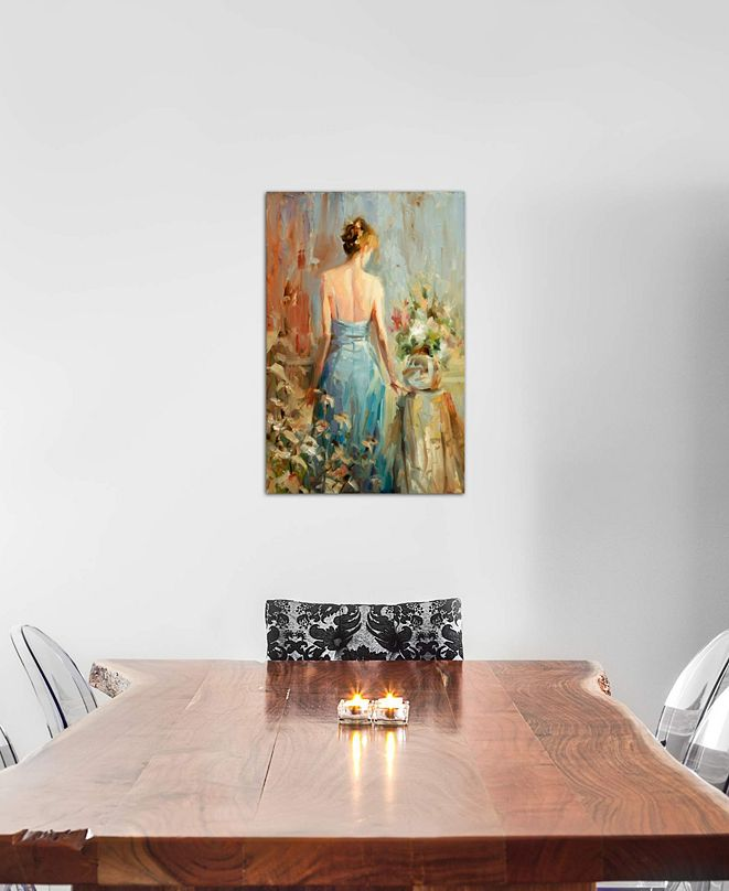 """iCanvas """"Thoughtful"""" by Steve Henderson Gallery-Wrapped Canvas Print (40 x 26 x 0.75)"""