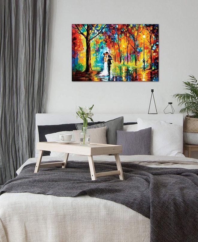 "iCanvas ""Rainy Wedding"" by Leonid Afremov Gallery-Wrapped Canvas Print (26 x 40 x 0.75)"