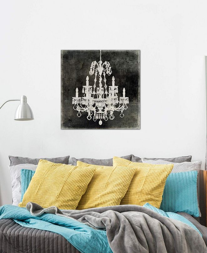 """iCanvas """"Chandelier II"""" by Oliver Jeffries Gallery-Wrapped Canvas Print (26 x 26 x 0.75)"""