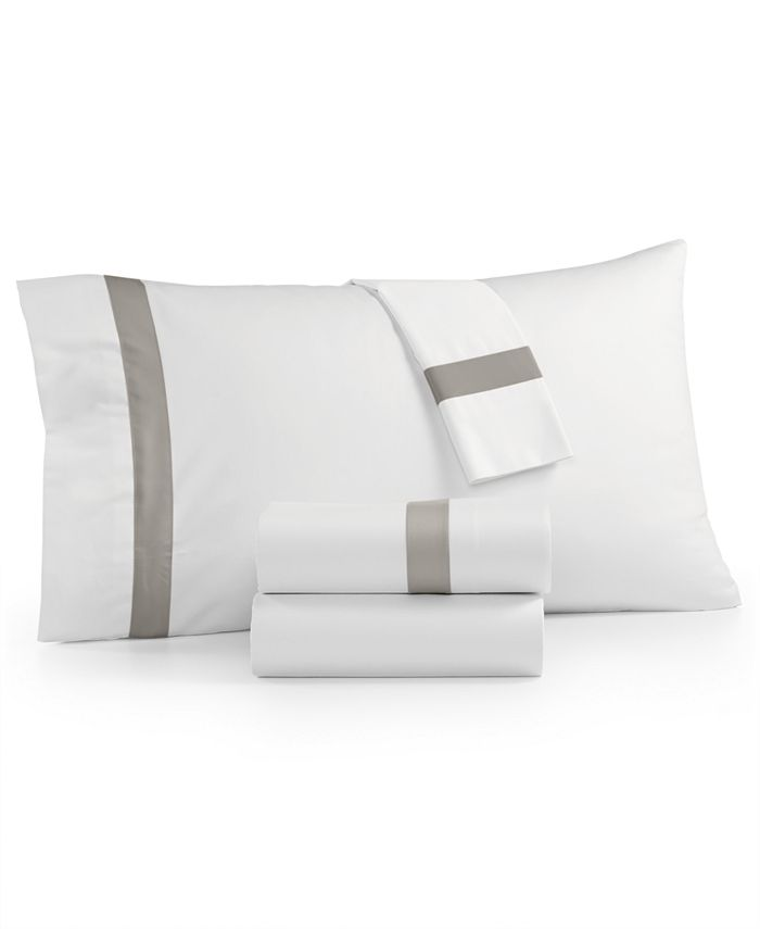 Charter Club - Sleep Luxe Fashion Hems Cotton 800-Thread Count 4-Pc. California King Extra Deep Sheet Set