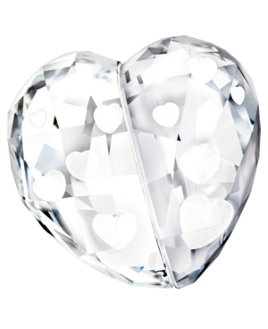 Swarovski Collectible Figurine, Love Heart Crystal Shade Medium