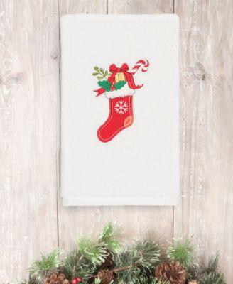 CLOSEOUT!  Christmas Stocking 100% Turkish Cotton Hand Towel