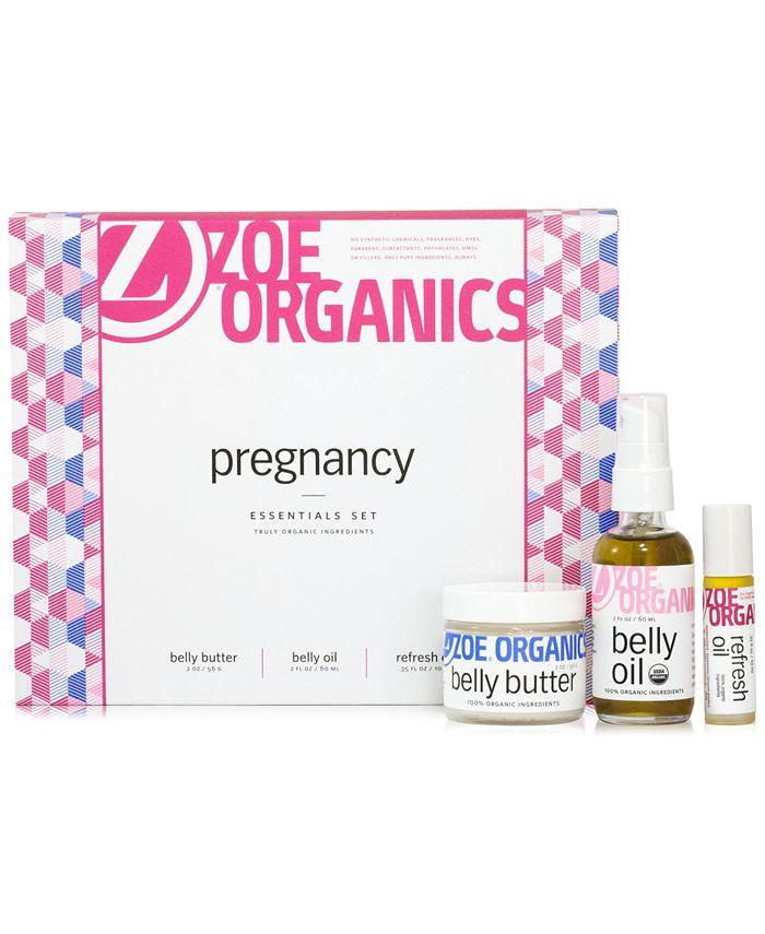 Zoe Organics - 3-Pc. Pregnancy Essentials Set