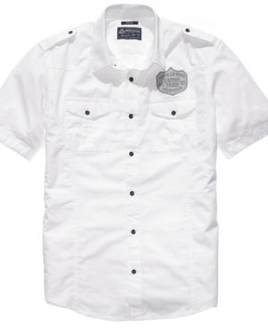 American Rag Shirt, Solid Woven Shirt