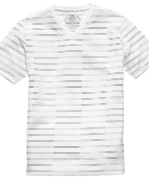 American Rag T Shirt, Mixed Stripe T Shirt
