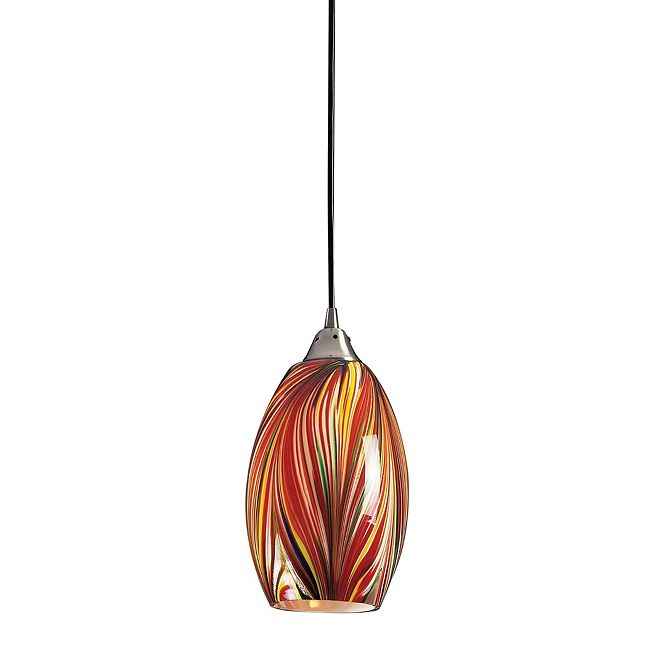 ELK Lighting Mulinello Collection Multi Colors Swirled