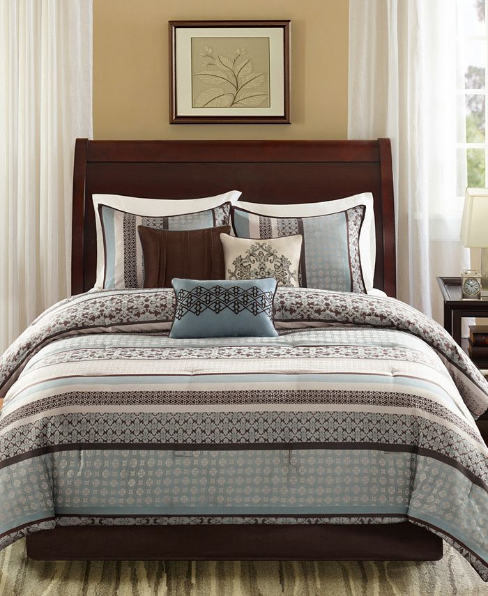 Madison Park - Princeton 7-Pc Cal King Comforter Set